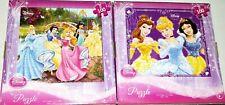 Disney Princess 100 Piece Jigsaw Puzzles x 2 Different Puzzles