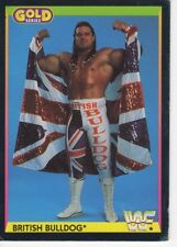 WWF FIGURINE SERIE GOLD BRITISH BULLDOG NO. 16