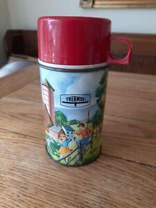 Vintage Thermos Flask Holtemp Farm USA