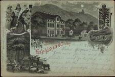Gruss Vom Gambrinus im Huy c1900 Used Postcard