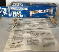 1993 Pastime Industries Native Indian Craft Metal Frame Bead Loom Instructions
