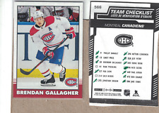 2020-21-O-Pee-Chee-Team Set -of 11-Montreal Canadiens--Price-Weber-Gallagher