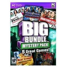 Big Bundle Mystery Pack 5 Great GamesPC DVD Windows XP, Vista, FREE SHIPPING e13