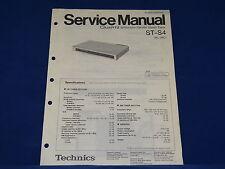 Technics ST-S4 Service Manual