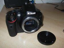 Nikon D5100 16.2MP Digital SLR Camera Body UNTESTED Spares Repairs Parts