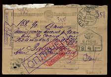 Rusia 1939 tarjeta de papelería, Sellos Matasellos #c 11214