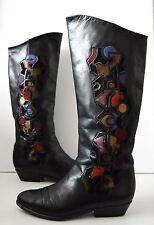 Damen Stiefel VENEZIA boots stivali Winterstiefel flach 90er TRUE VINTAGE