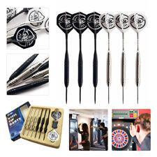 22g 6pcs/set of Tungsten Darts Set Hard Steel Tip Professional Games