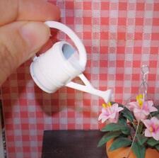1:12 Scale White Flower Kettle Dollhouse Miniature Re-ment Doll Home Scene