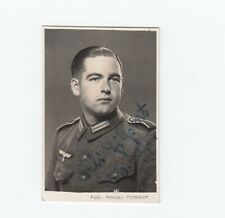 WW2 German, Heer Whermacht Soldier, Small Personal Photo