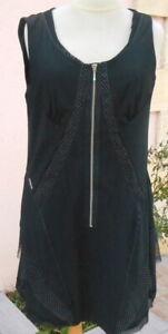 robe * la mode est à vous * LMV   taille  42 modele carrie noir  neuf s/et