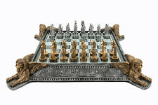 """Dal Rossi Italy Egyptian Resin Chess Set 16"""" L2034DR"""