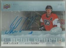 2014-15 Upper Deck Ice Glacial Graphs JOHN LeCLAIR GROUP C AUTO 1:110 PACKS