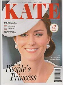 NO Label KATE The PEOPLE'S PRINCESS Centennial SPECIAL EDITION 10 Years A Royal