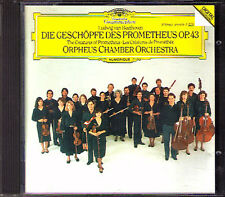 ORPHEUS CHAMBER ORCHESTRA: BEETHOVEN Ballet: Die Geschöpfe des Prometheus DG CD
