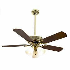 Brass Modern Ceiling Fans with Light