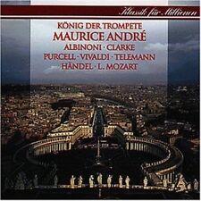 CD M. André König der Trompete . Bach Händel Vivaldi Albinoni Purcell. I Musici