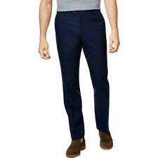 Tasso Elba Men's Classic-Fit Duomo Pants, Navy Blue, 36x32