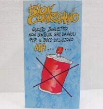 BIGLIETTO DI BUON COMPLEANNO-MISURA cm. 11x21