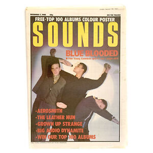 Sounds 7 December 1985 - Fine Young Cannibals,Aerosmith,Big Audio Dynamite,Grown