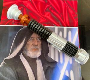 1:1 Scale - 3D Printed Obi-Wan/Ben Kenobi Lightsaber Hilt Cosplay Prop