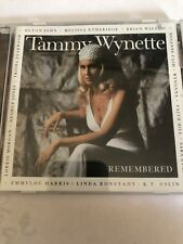 Tammy Wynette Remembered by Various Artists CD 1998 Elektra Label Tribute