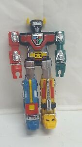 "Vintage VOLTRON III Mini 6"" Lion Robot Matchbox Bandai Die Cast 1985 TOEI Taiwan"