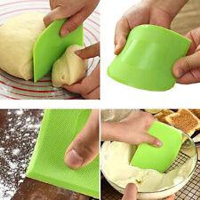 2 Pcs Dough Scraper Bowl Scraper Kitchen Supplies Baking Tools Cutter Br miA7cy