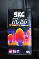 VHS SKC Video Cassette, Korea, (195 minutes), Analog Video One New Packed Casset