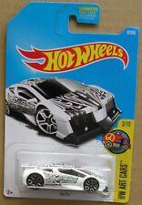 Hot Wheels 2017 37 of 365 Zotic Hotwheels HW Art Cars - Long Card