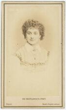 CDV circa 1870. Adèle Blanchart dite Berthe Legrand par Reutlinger à Paris.