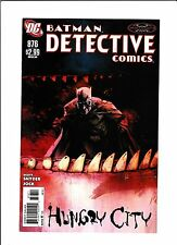"DETECTIVE COMICS #876  [2011 VF-NM]  ""HUNGRY CITY"""