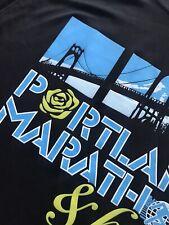 St John's Bridge Portland Marathon & Half Black Shirt S