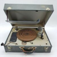 Vintage Waters Conley Phonola Hand Crank Phonograph Record Player Works *Read*
