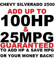 Chevy SILVERADO 2500 6.0L 8.1L HD SS Performance Chip Tuner 1996-2018 Plug &Play