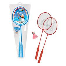 Set di racchette da badminton portatile gioco di sport indoor//outdoor giocattolo con 2 palline Allenamento leggero per principianti Bambini Ragazzi Ragazze Regalo 20,2x53,5 cm//8,0x21 pollici Giallo