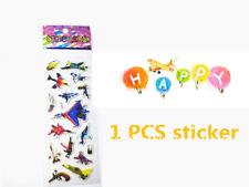 1PCS PVC Airplane Stickers Kid Party Gift Toy Teacher Reward Gifts Handmade ##