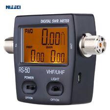 NISSEl RS-50 Digital SWR & WATT Meter 125-525 Mhz for 2 Way Radio Compact Tester