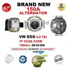 Para Vw Eos 2.0 TSI 1f CCZA CCZB 1984cc 2010 Adelante 150a Alternador Calidad OE