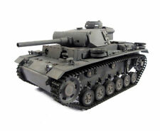 1:16 Mato German Panzer Iii Rc Tank 2.4Ghz Airsoft 100% Metal Grey