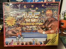 World Wrestling Federation Colorforms Action Deluxe Play Set Nib Sealed