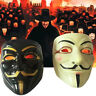 V For Vendetta Guy Fawkes Anonymous Halloween Cosplay Costume Mask