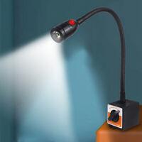 1W Light LED Work Lights 110V Small Light Gooseneck 2-way switching waterproof
