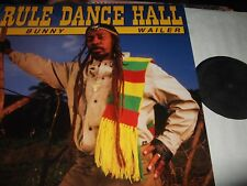 BUNNY WAILER : RULE DANCE HALL LP 1987 MUNICH  MR 125