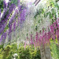Artificial Silk Flower Ivy Hanging Garland Vine String Wedding Party Decoration
