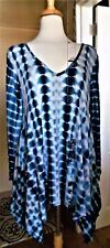 Tie dye HI LO tunic SIZE SMALL 1 PIECE AND SIZE LARGE 2 PIECES