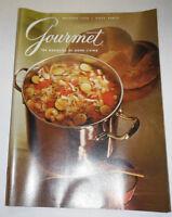 Gourmet Magazine Pumpkins & The Wines Of California October 1970 102214R