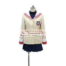 Clannad Nagisa Furukawa Uniform COS Clothing Cosplay Costume