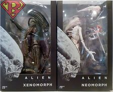 """XENOMORPH & NEOMORPH Alien Covenant 7"""" Scale Movie Figures Set of 2 Neca 2017"""