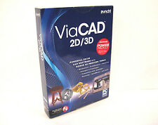 Punch ViaCad 2D/3D  Powerful 2D/3D CAD Software with Bonus 3D Printing Tools
